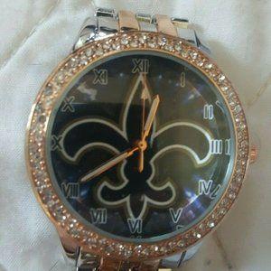 New Orleans Saints NFL Womens Luxury Watch
